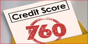 Credit Score will illustrate credit worthiness of an applicant hoping to borrow money in a loan or mortgage